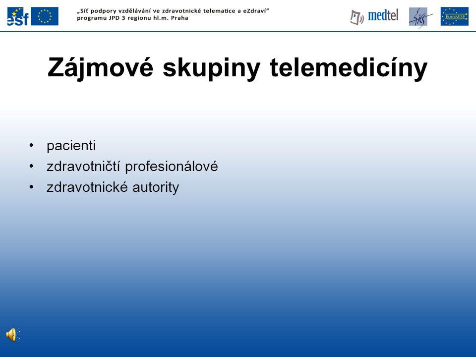 Zájmové skupiny telemedicíny