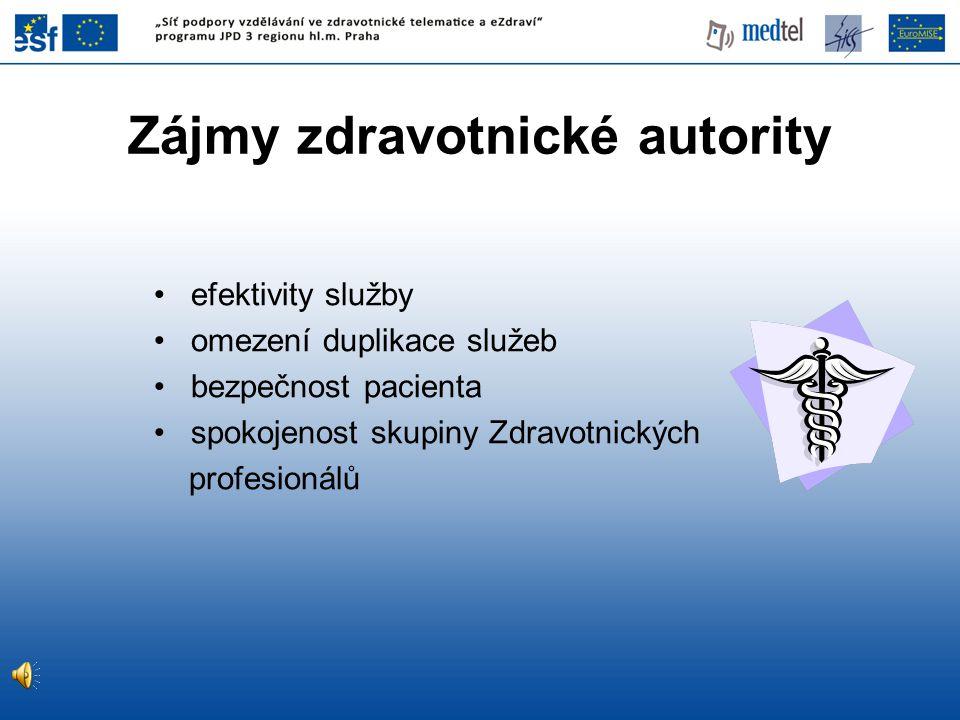 Zájmy zdravotnické autority