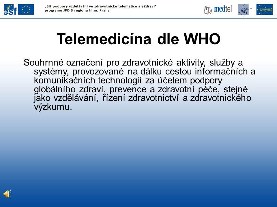 Telemedicína dle WHO