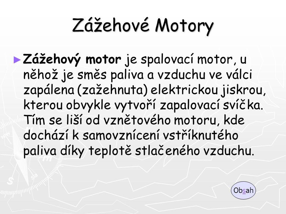 Zážehové Motory