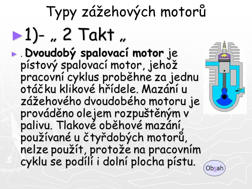 Typy zážehových motorů