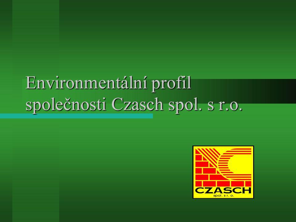 Environmentální profil společnosti Czasch spol. s r.o.