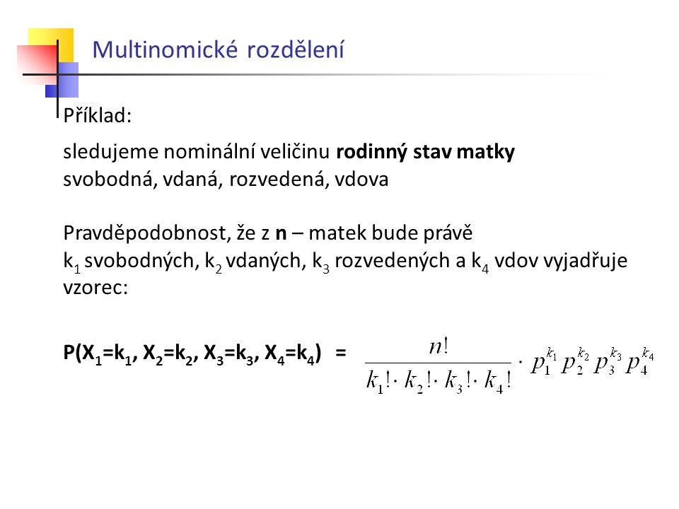 Multinomické rozdělení