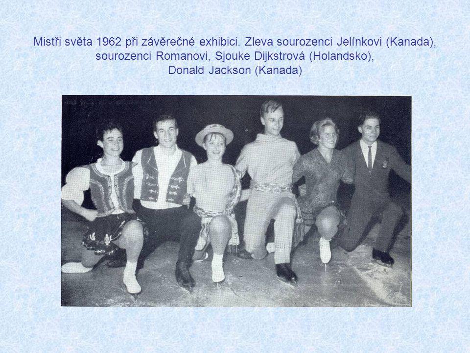 Mistři světa 1962 při závěrečné exhibici