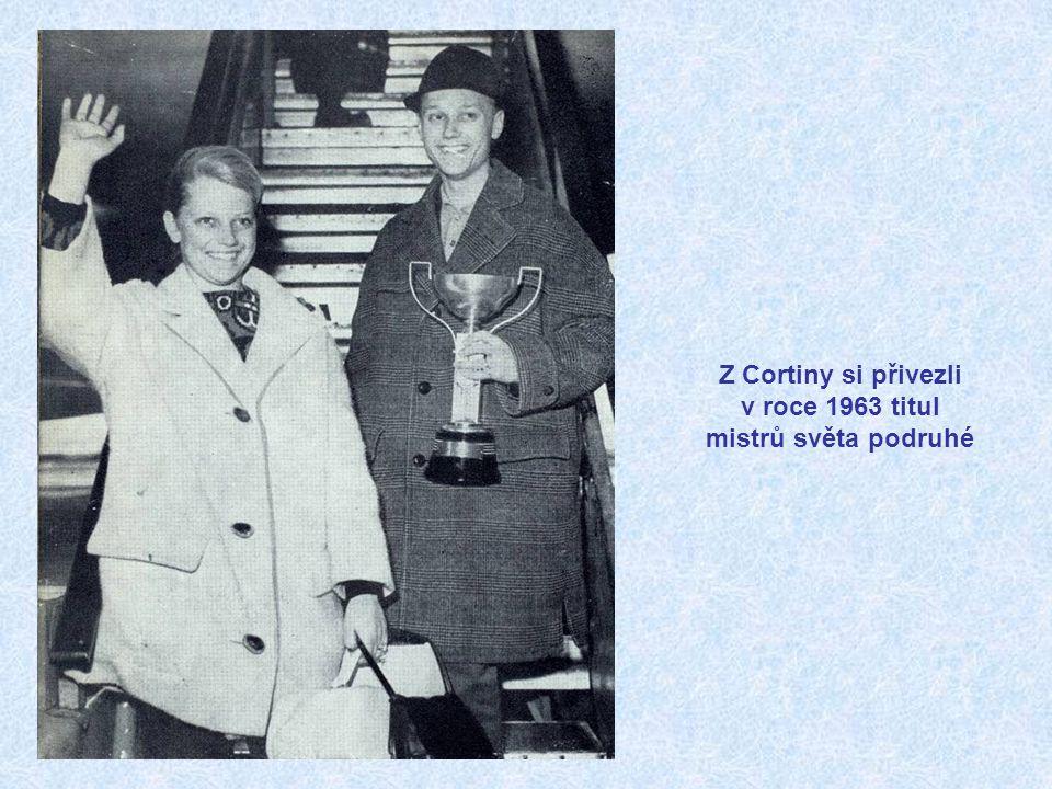 Z Cortiny si přivezli v roce 1963 titul mistrů světa podruhé