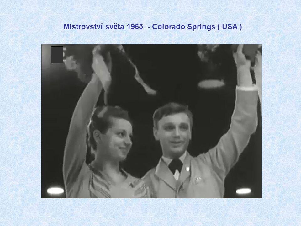 Mistrovství světa 1965 - Colorado Springs ( USA )