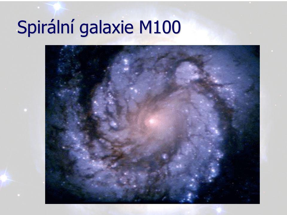 Spirální galaxie M100