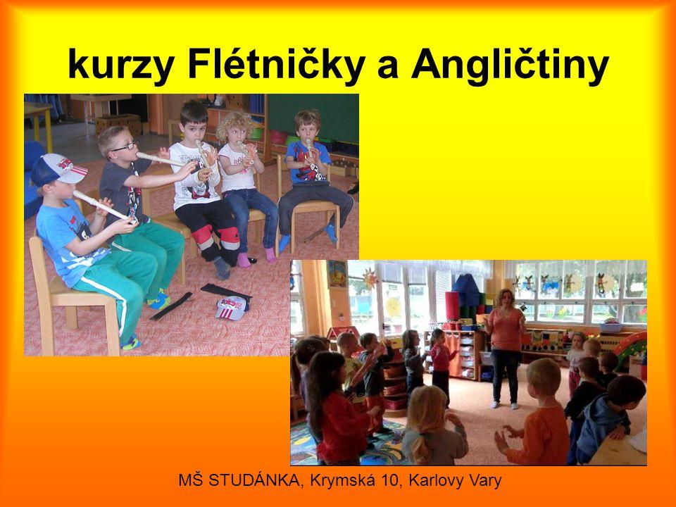 kurzy Flétničky a Angličtiny