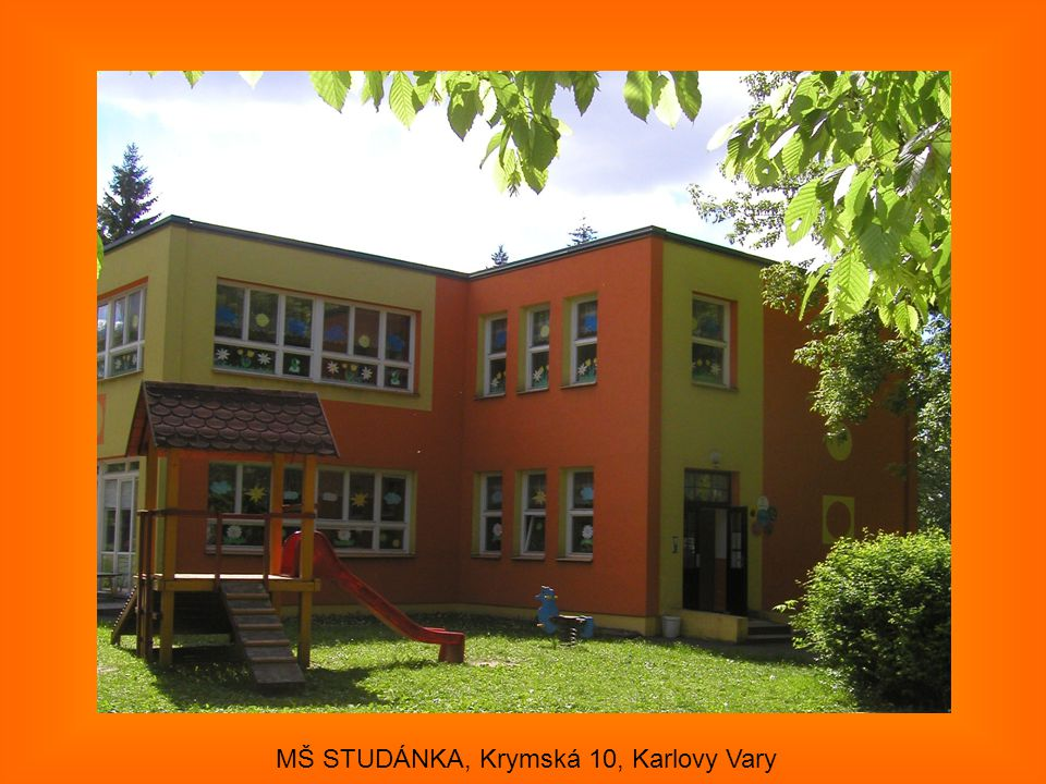 MŠ STUDÁNKA, Krymská 10, Karlovy Vary