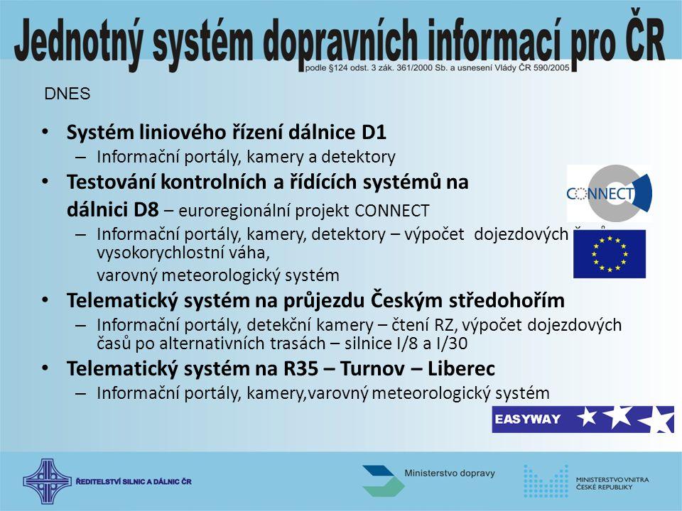 Systém liniového řízení dálnice D1