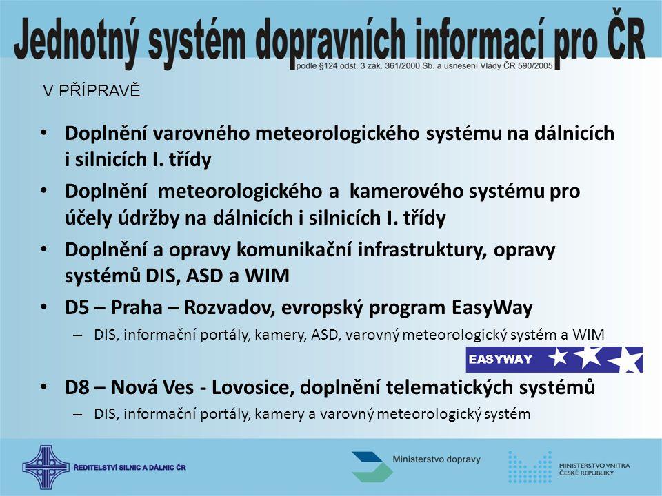D5 – Praha – Rozvadov, evropský program EasyWay