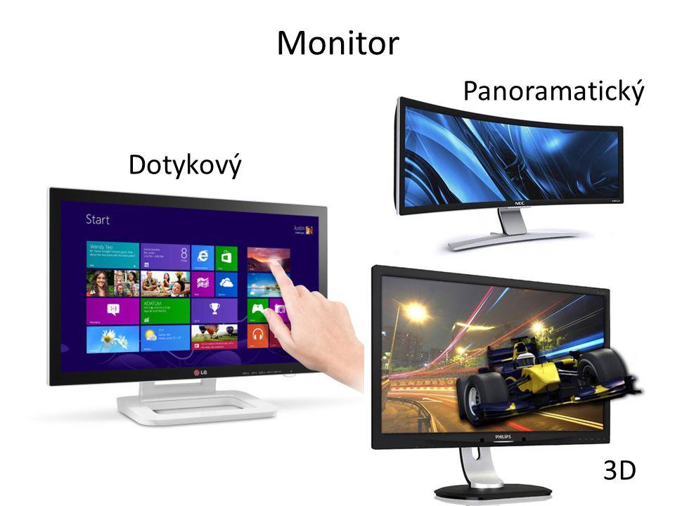 Monitor Panoramatický Dotykový 3D