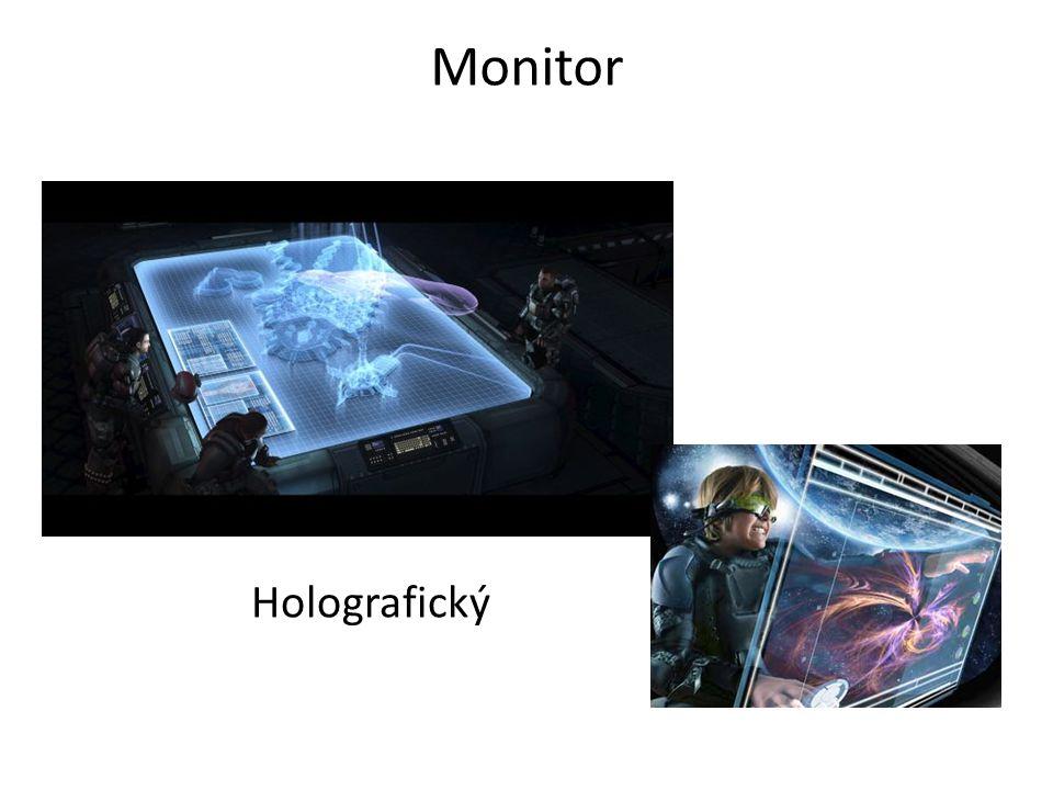 Monitor Holografický
