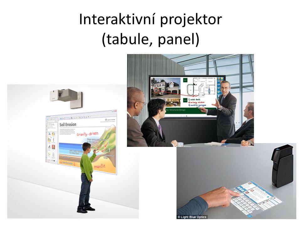 Interaktivní projektor (tabule, panel)