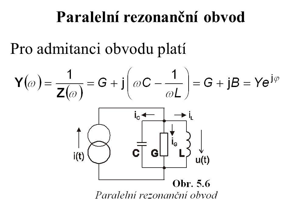 Paralelní rezonanční obvod