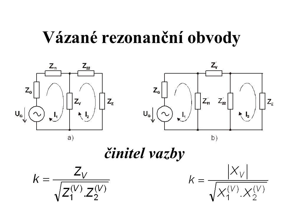Vázané rezonanční obvody