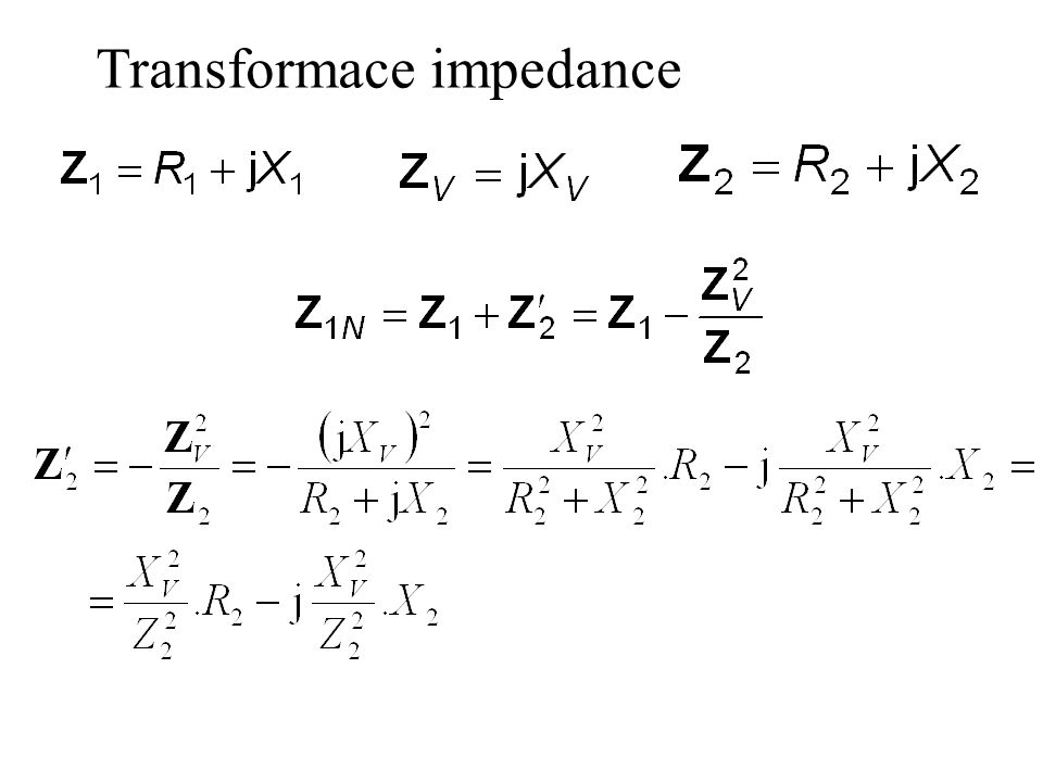 Transformace impedance