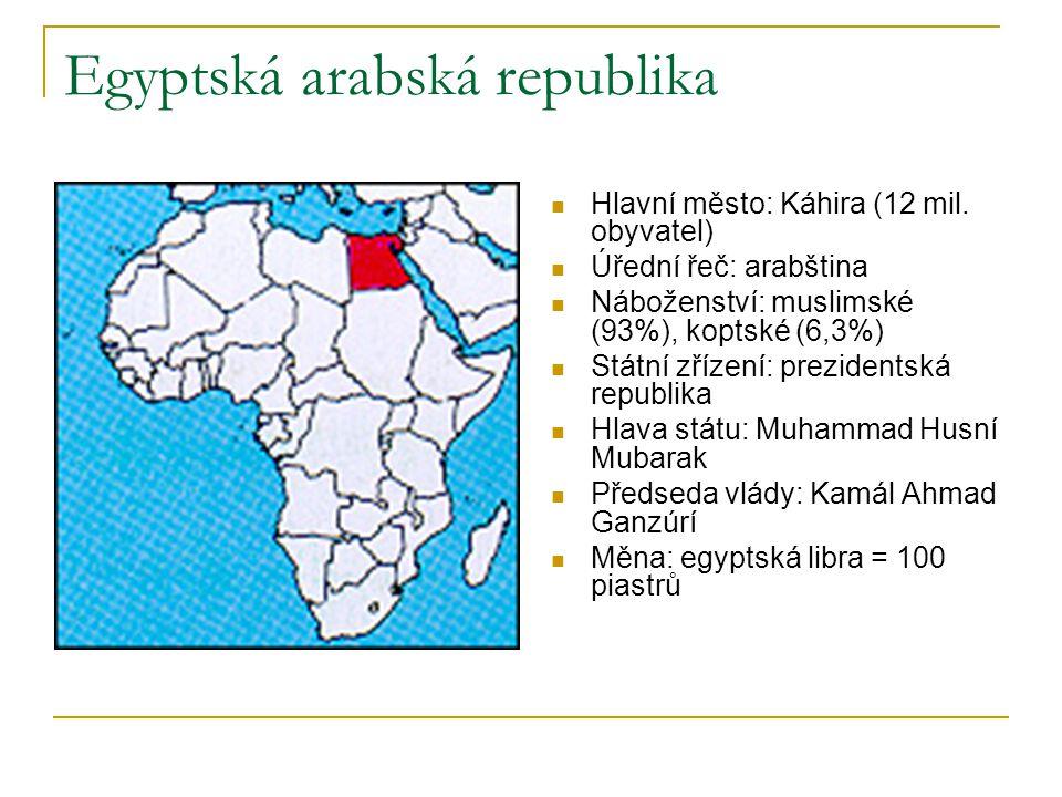 Egyptská arabská republika