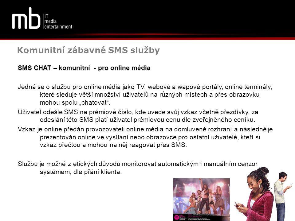 Komunitní zábavné SMS služby