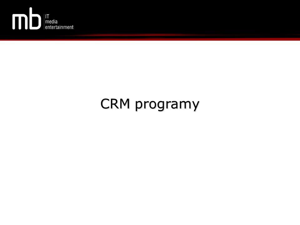 CRM programy
