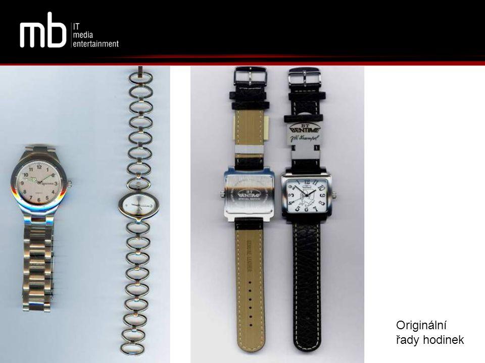 Originální řady hodinek