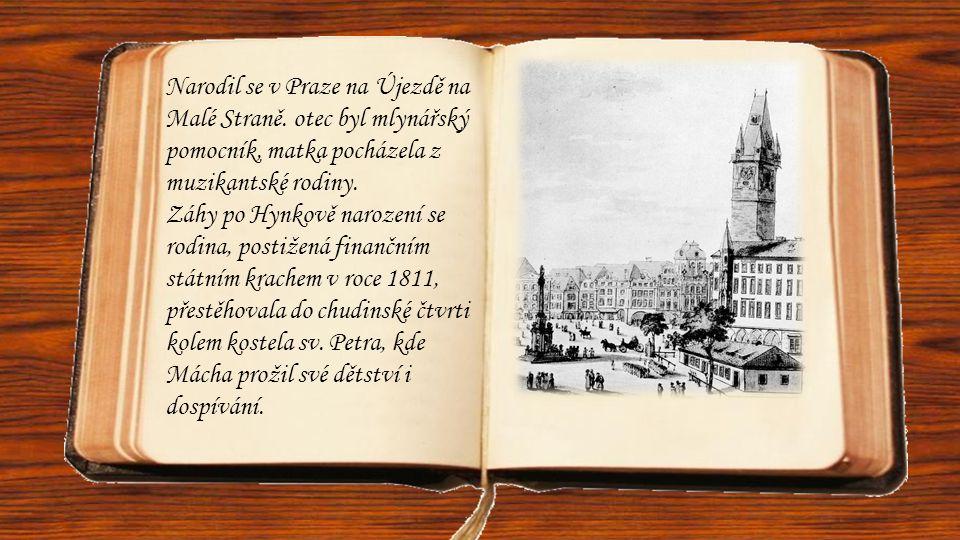 Narodil se v Praze na Újezdě na Malé Straně