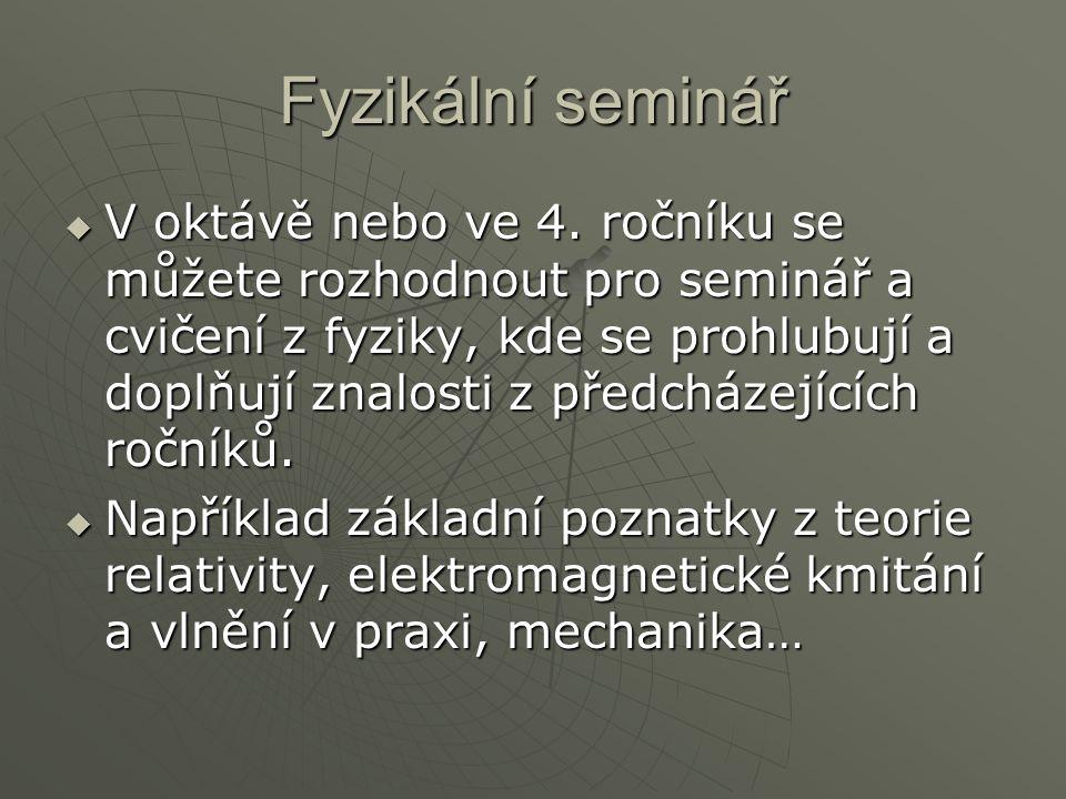 Fyzikální seminář