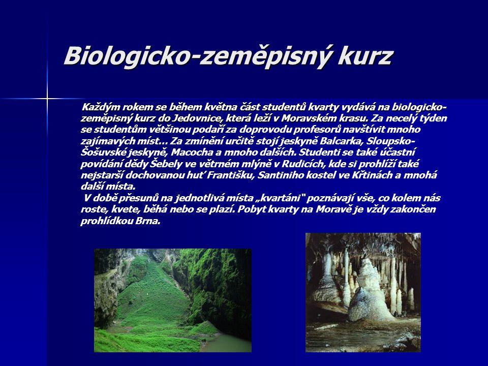 Biologicko-zeměpisný kurz