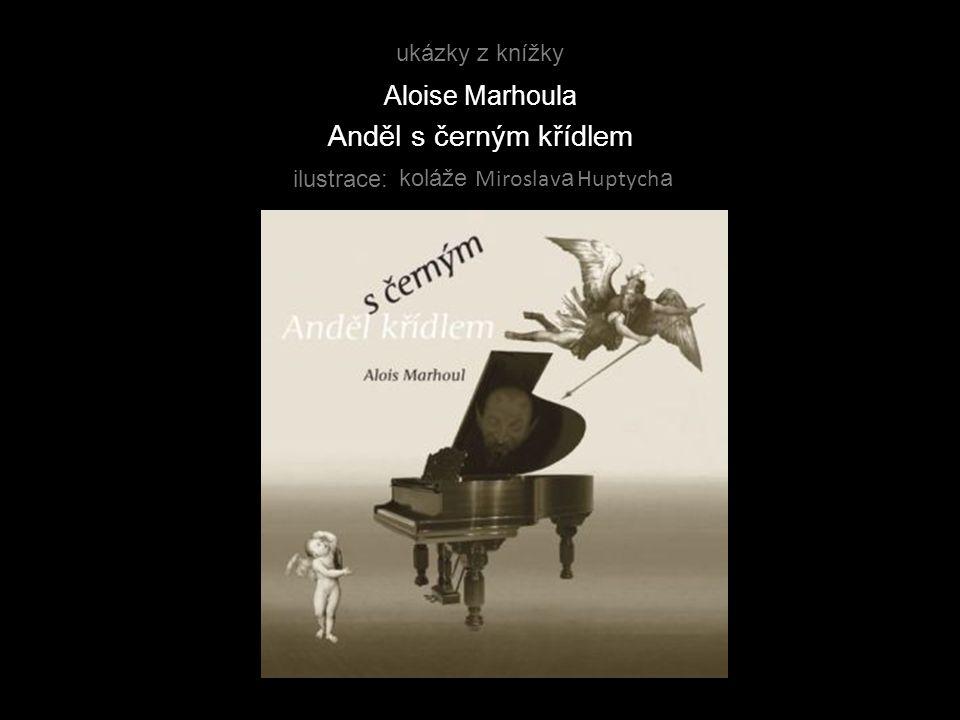 Anděl s černým křídlem Aloise Marhoula ukázky z knížky ilustrace: