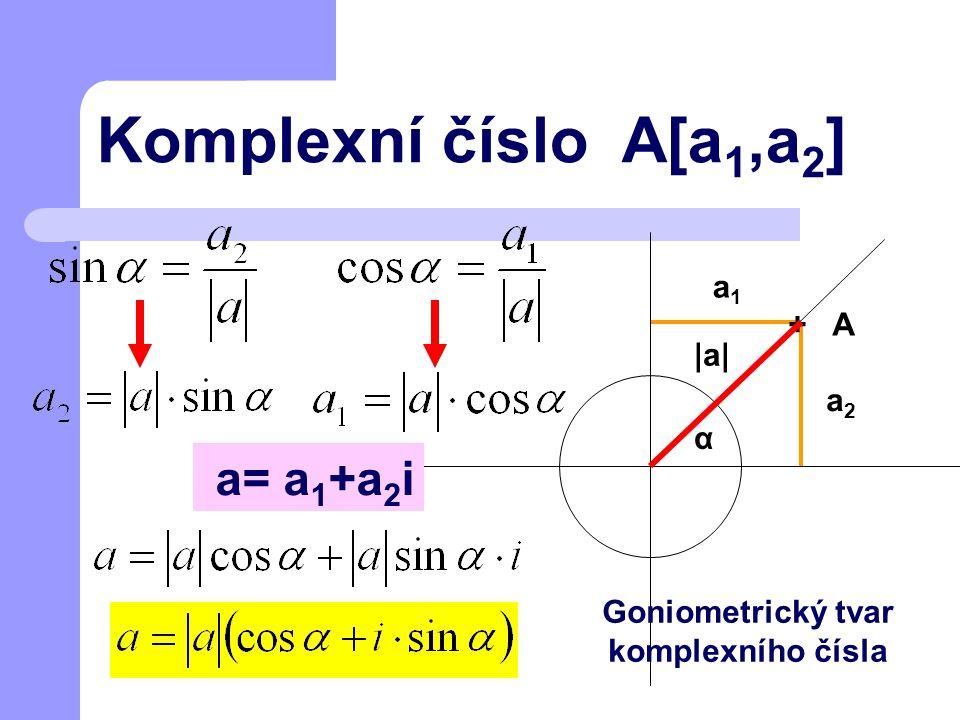 Goniometrický tvar komplexního čísla