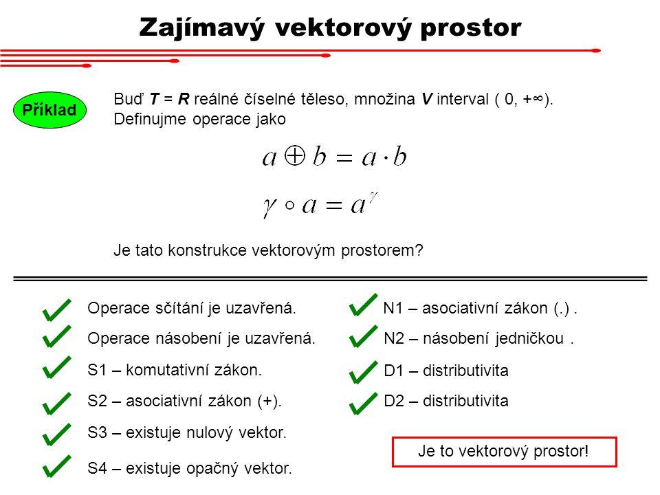 Zajímavý vektorový prostor