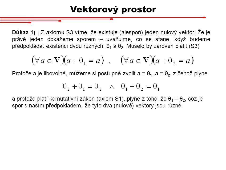 Vektorový prostor