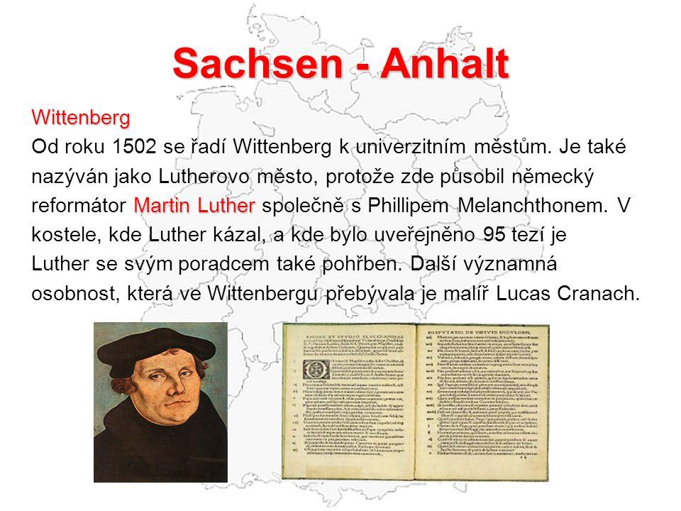 Sachsen - Anhalt Wittenberg