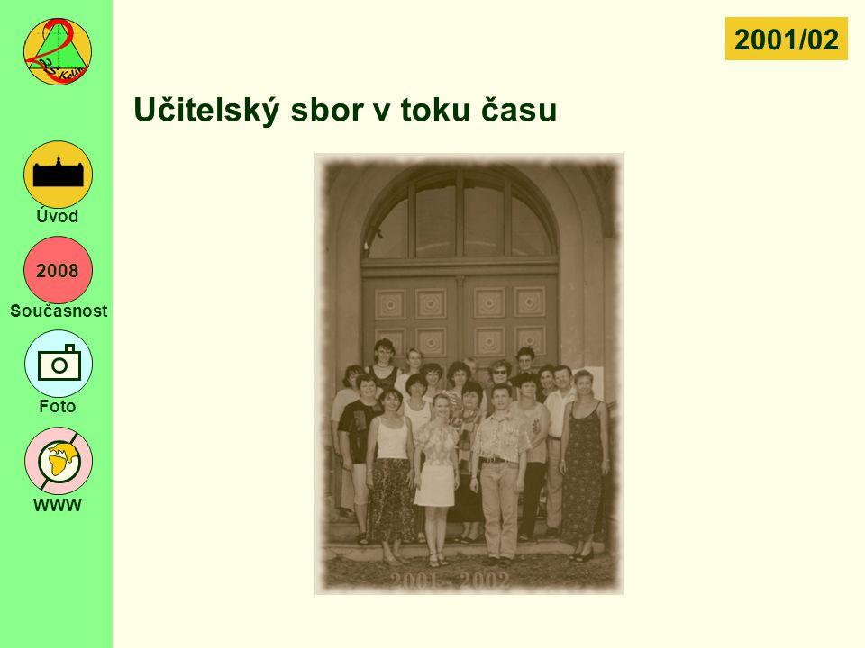 Učitelský sbor v toku času