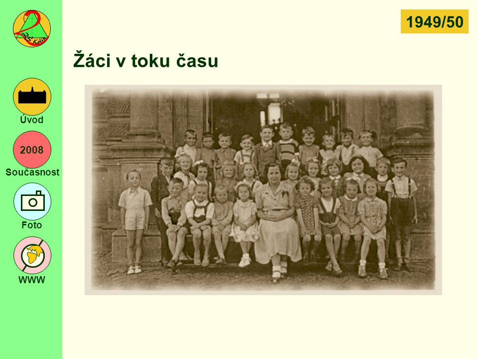 1949/50 Žáci v toku času