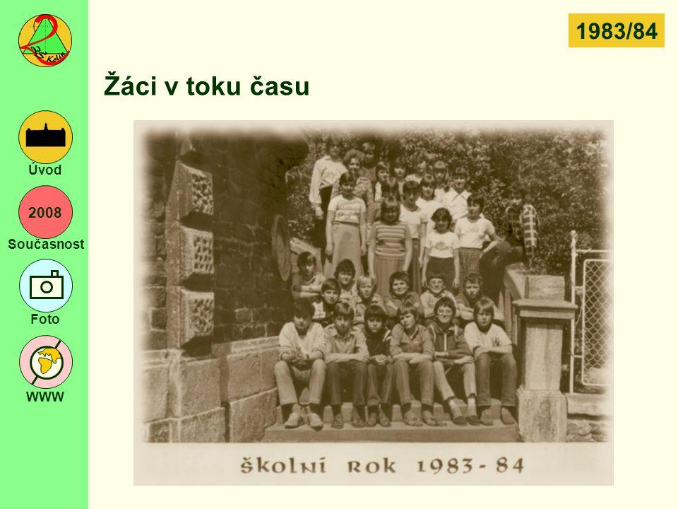 1983/84 Žáci v toku času