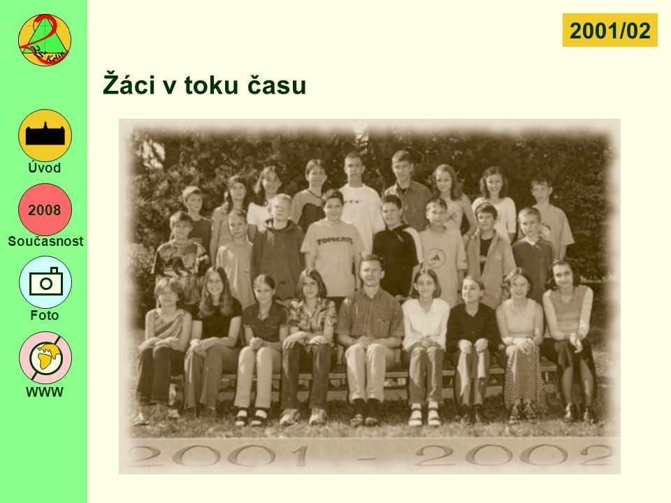 2001/02 Žáci v toku času