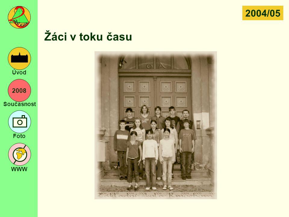 2004/05 Žáci v toku času