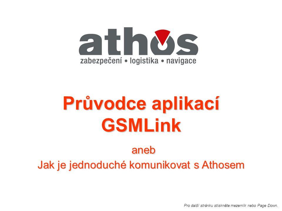 Průvodce aplikací GSMLink aneb