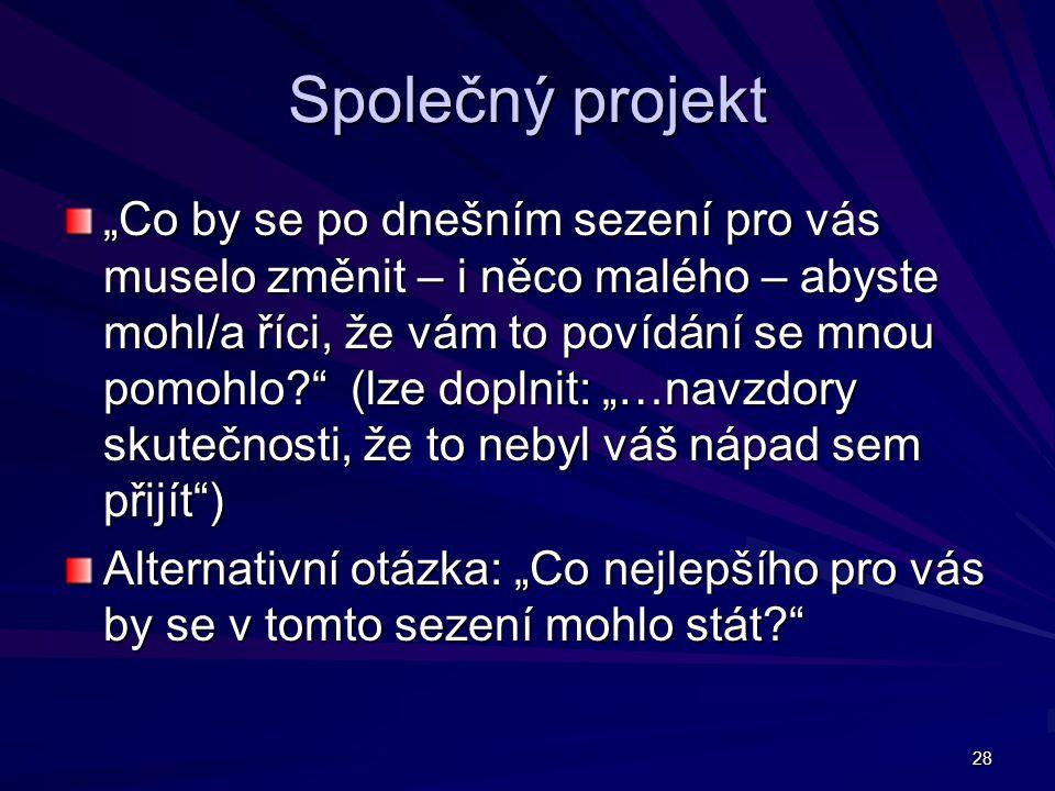 Společný projekt
