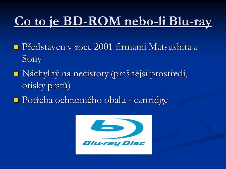 Co to je BD-ROM nebo-li Blu-ray