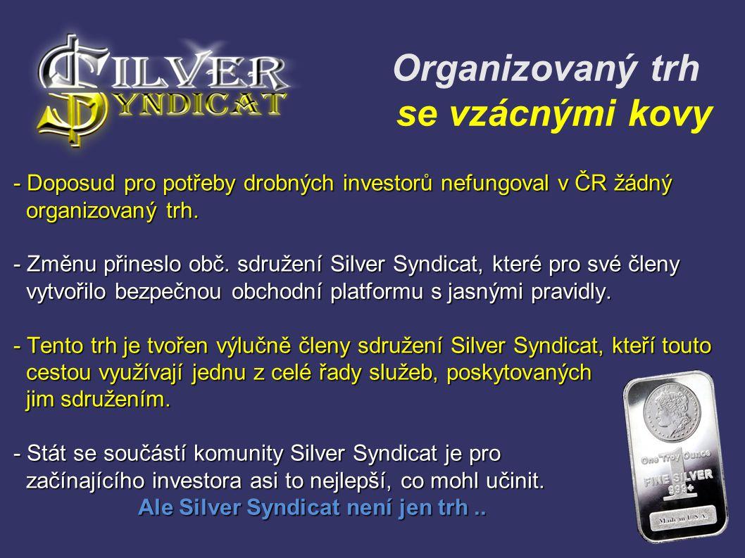 Organizovaný trh se vzácnými kovy