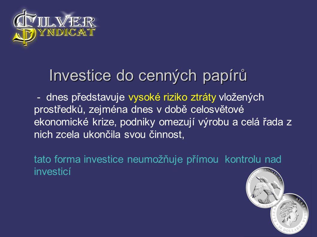 Investice do cenných papírů