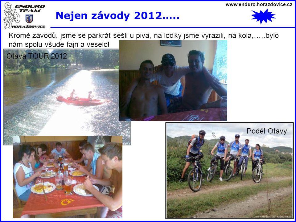 www.enduro.horazdovice.cz Nejen závody 2012…..