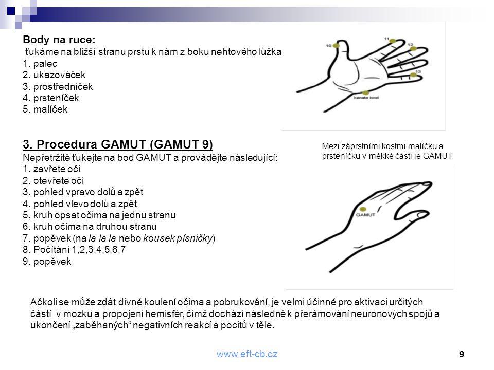 3. Procedura GAMUT (GAMUT 9)