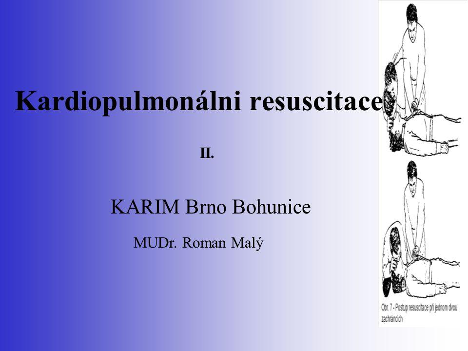 Kardiopulmonálni resuscitace