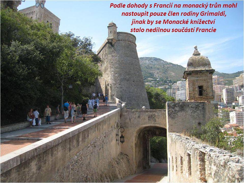 Podle dohody s Francií na monacký trůn mohl