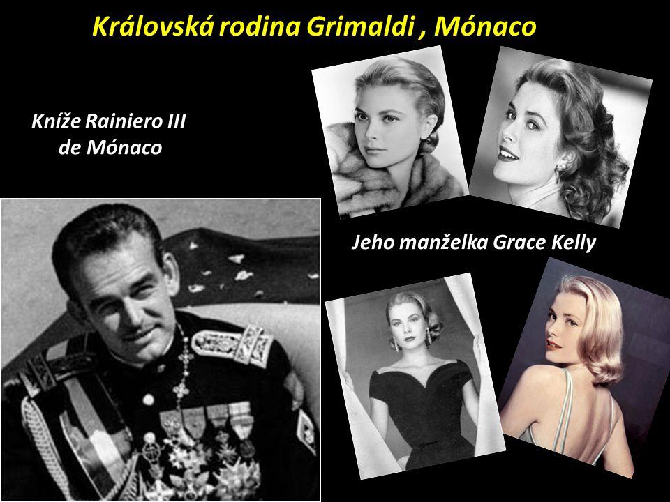 Královská rodina Grimaldi , Mónaco