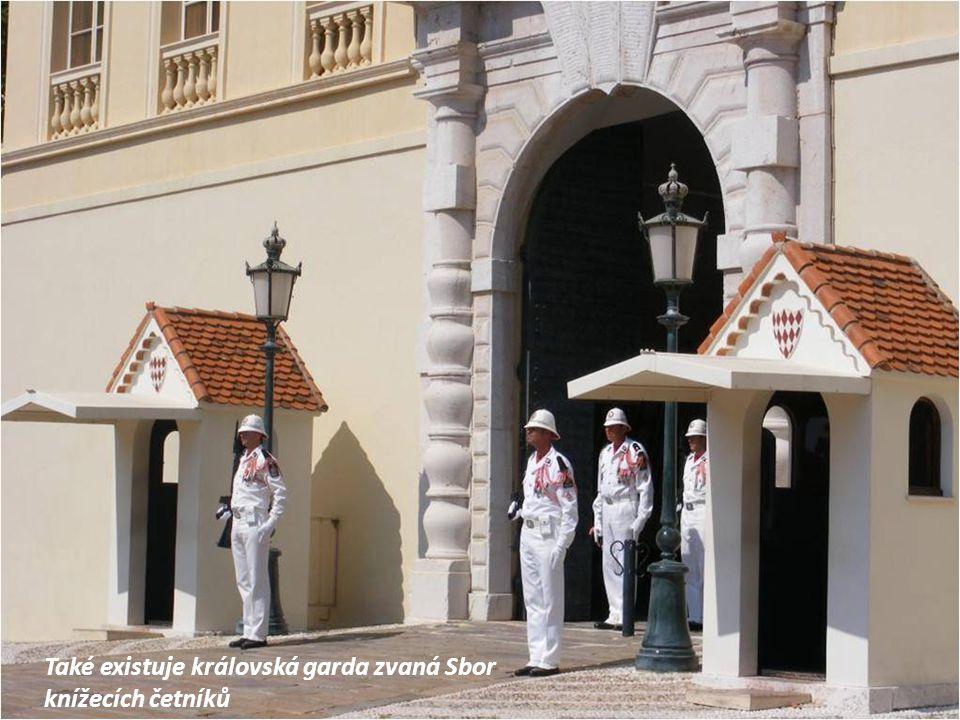 Také existuje královská garda zvaná Sbor knížecích četníků