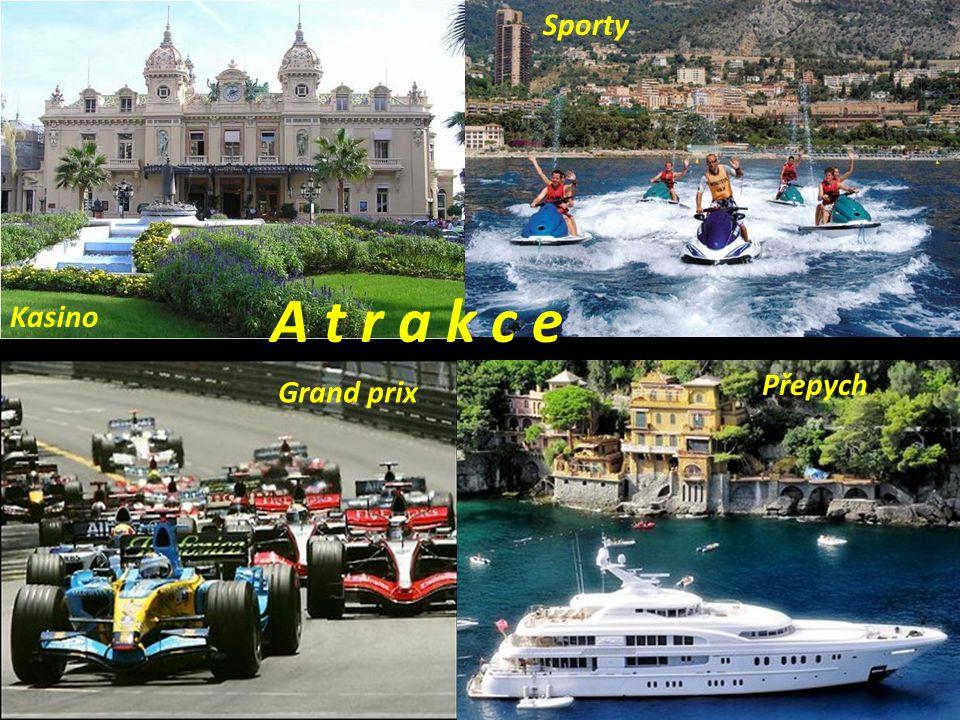 Sporty A t r a k c e Kasino Přepych Grand prix